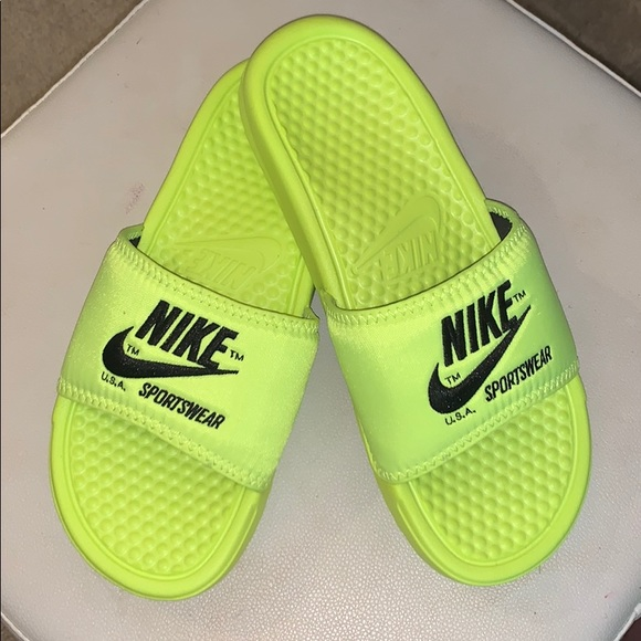 Nike Shoes | Brand New Neon Green